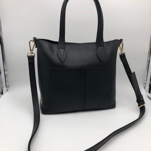 Steve Madden Black Pebble Crossbody Bag